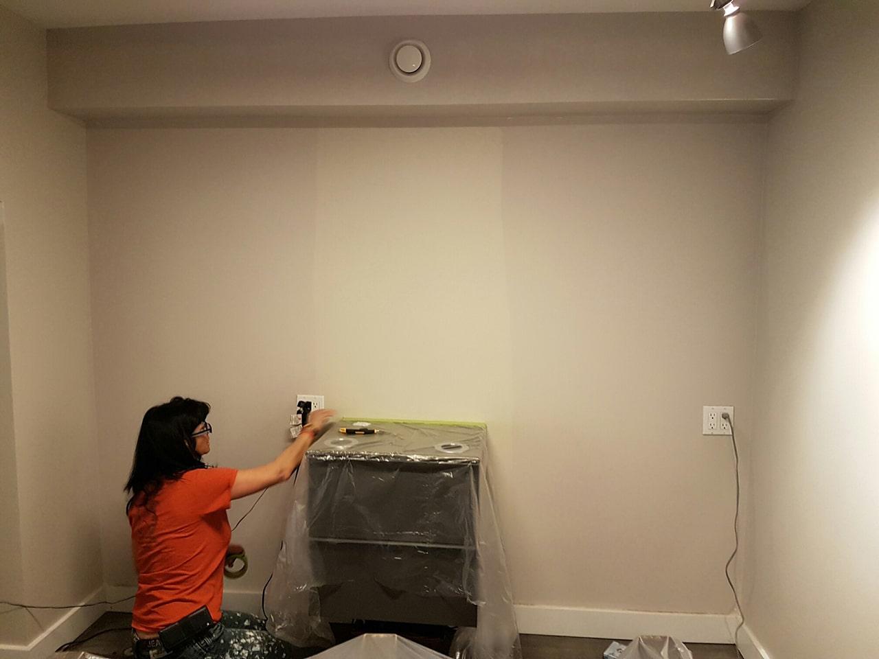 Processus de peinture
